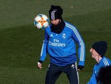 Benzema fue nombrado mejor madridista del mes de enero. EFE