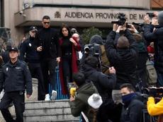 Cristiano Ronaldo depois da condenação por fraude fiscal. EFE