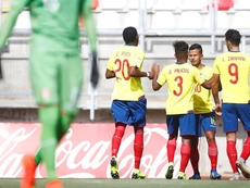 Ecuador prepara el Mundial Sub 20. EFE