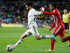 Isco comenzó a darle toques al balón en el Atlético Benamiel. EFE