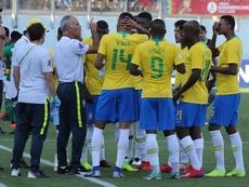 Amadeu no pudo clasificar a Brasil. EFE