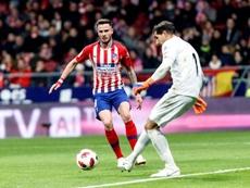 Saúl pourrait laisser 150 millions dans les caisses de l'Atlético. EFE