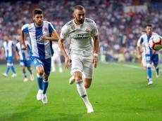 Les compos probables du match de Liga entre le Real Madrid et l'Espanyol. EFE