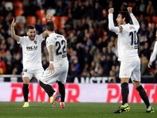 El Valencia apunta con confianza hacia el Villarreal. EFE