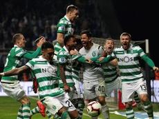 El Sporting se ha afianzado en el tercer puesto. EFE/Archivo