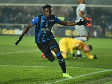 Zapata hit a timely double for Atalanta. EFE