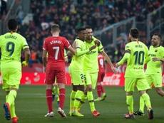 Barcelona made light work of Girona away from home. EFE