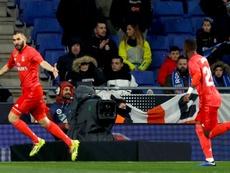 Benzema é o nome do jogo. AFP