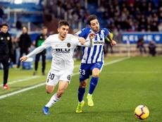 Ferran Torres suena para abandonar Mestalla. EFE
