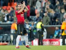 Le joueur de Manchester United, Juan Mata. EFE