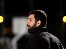 Arda Turán quiere retirarse en el Galatasaray y Terim lo aprueba. EFE/Archivo