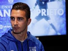 Andrés Prieto no seguirá en el Leganés. EFE