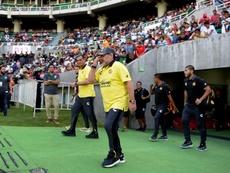Maradona criticó el papel de Infantino en la FIFA. EFE/archivo