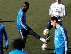 El Madrid pone a Vinicius bajo el foco. EFE
