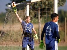 Roffo regresa al Mundial con ganas de revancha. EFE