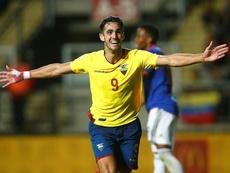 Nieto de millonario, hijo de ministro y goleador del Sudamericano. EFE