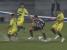 Defensa y Justicia aún podría tener una opción de seguir en la Sudamericana. EFE