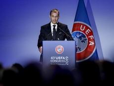 La clasificación para Catar y la Liga de las Naciones, en la reunión de la UEFA. EFE