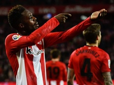 Man United reportedly willing to pay 88 million clause for Iñaki Williams. EFE