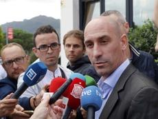 Tras su elección como miembro del Comité Ejecutivo de la UEFA. EFE/Archivo