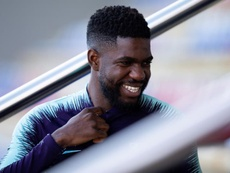Umtiti, in the spotlight. EFE