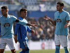 El uruguayo terminó expulsado. EFE