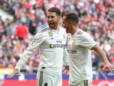 Le Real Madrid n'avait plus envisagé de triplé depuis 2014. EFE