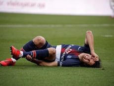 Cavani looks set to be out for longer than first thought. EFE/EPA