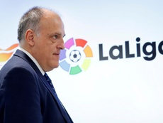 La Liga President gave his thought on the Clasico. AFP