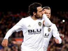 Parejo, Soler y Diakhaby, al borde la suspensión en Europa League. EFE/Archivo