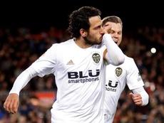 La sanction de Parejo et Gayà prendra fin la saison prochaine. AFP