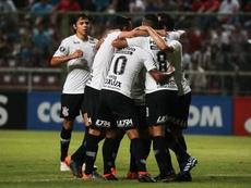 Corinthians logró un agónico empate. EFE/Archivo