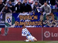 El Leganés presumió de 'felinidad' antes de medirse al Athletic. EFE/Archivo