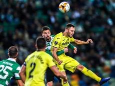 Alfonso Pedraza hizo el gol de la victoria 'groguet'. EFE
