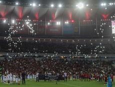 Bonito homenaje en Río a las víctimas del incendio. EFE