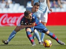 El Levante ganó 1-4. EFE/Archivo