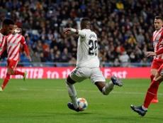 Vinicius a été remplaçant un mois de demi après et Madrid a de nouveau perdu. EFE
