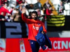 Diego Costa volvió a Vallecas. EFE