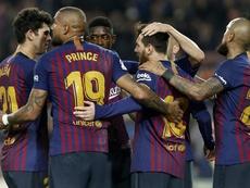 Barcelone a gagné à Valladolid, mais n'a pas convaincu. EFE