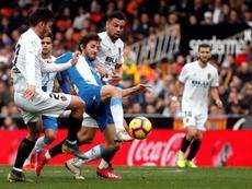El Valencia volvió a igualar a cero en casa. EFE