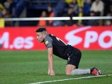 El Sevilla empieza a ver comprometido su cuarto puesto liguero. EFE