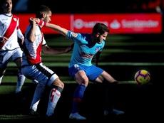 Saúl encandiló al United cuando estuvo cedido en el Rayo Vallecano. EFE/Archivo