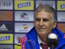 Queiroz quiere sacar a Colombia de Barranquilla. EFE