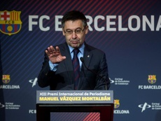 Bartomeu ribadisce la piena fiducia in Valverde. EFE/Archivo