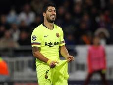 Suárez a signé un de ses pires matches cette saison. EFE