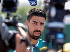 Khedira agotará su contrato con la Juve. EFE/Archivo