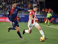Ander Capa está encantado con el nuevo técnico del Athletic. EFE