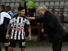Deportivo Santaní consiguió la igualada. EFE