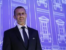 Ceferin habló sobre su relación con la FIFA. EFE/Archivo