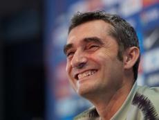 Ernesto Valverde disparó con bala tras ganar al Sevilla. EFE/Archivo